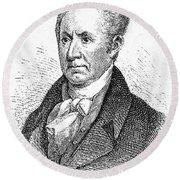 Gilbert Stuart (1755-1828) Round Beach Towel