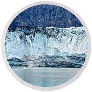 Glacier Face Round Beach Towel