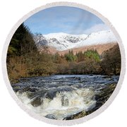 Glen Orchy Round Beach Towel