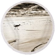 Godwit Round Beach Towel