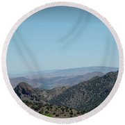 Gold In The Hills Virginia City Nv Round Beach Towel