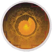 Golden Ratio 2012 Round Beach Towel