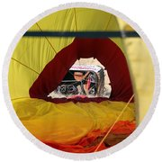 Gondola Envelopment Round Beach Towel