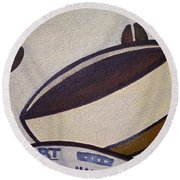 Good Morning ... Round Beach Towel