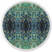 Graceleavz  Round Beach Towel