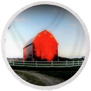 Graded On A Curve  Round Beach Towel