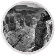 Grand Canyon 2 Round Beach Towel