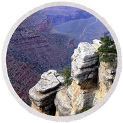 Grand Canyon 39 Round Beach Towel