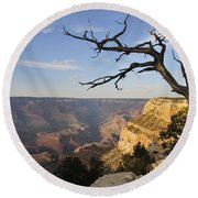 Grand Canyon 4 Round Beach Towel