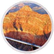 Grand Canyon 43 Round Beach Towel