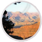 Grand Canyon 59 Round Beach Towel