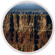 Grand Canyon Cliffs IIi Round Beach Towel