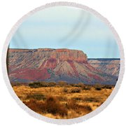 Grand Canyon- Framed Round Beach Towel