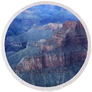 Grand Canyon Grandeur Round Beach Towel