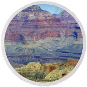 Grand Canyon Landscape II Round Beach Towel