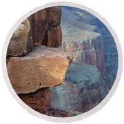 Grand Canyon Raw Nature Round Beach Towel
