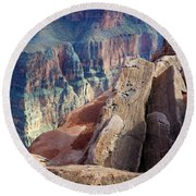 Grand Canyon Roxie Roller Round Beach Towel