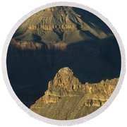 Grand Canyon Vignette 2 Round Beach Towel