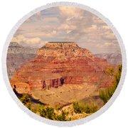 Grand Canyon - Yavapai  Round Beach Towel