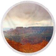 Grand Grand Canyon Round Beach Towel