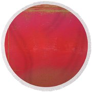 Great Fire Aftermath Round Beach Towel