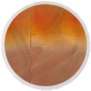 Great Fire Four Round Beach Towel