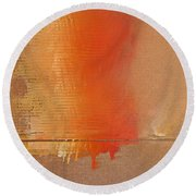 Great Fire Two Round Beach Towel