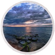 Great South Bay Round Beach Towel