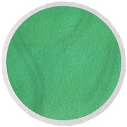 Green Textile Round Beach Towel