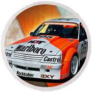 Group C Vk Commodore Round Beach Towel