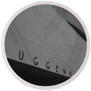 Guggenheim M Round Beach Towel