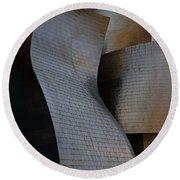 Guggenheim Museum Bilbao - 1 Round Beach Towel