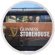 Guinness Storehouse Dublin - Ireland Round Beach Towel