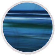 Gulf Of Mexico Round Beach Towel