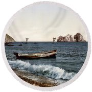 Gursuff - Crimea - Ukraine Round Beach Towel