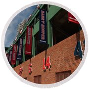 Hall Of Famers Round Beach Towel