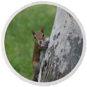 Hanging And Chilling Round Beach Towel