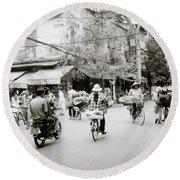 Hanoi Round Beach Towel