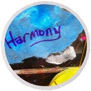 Harmony  Round Beach Towel