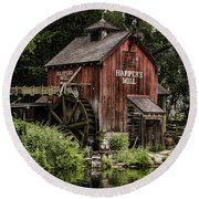 Harpers Mill Round Beach Towel