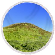 Hatcher Pass Round Beach Towel