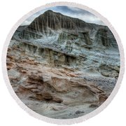Haugen Canyon California Round Beach Towel