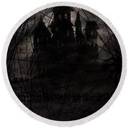 Haunted Round Beach Towel