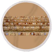 Have A Seat ... Round Beach Towel
