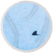 Hawk Eyes Round Beach Towel