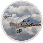 Hawker Demon Round Beach Towel