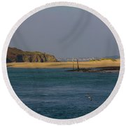 Hayle Harbour Round Beach Towel