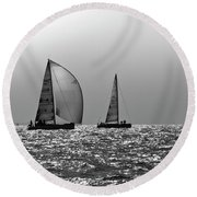 Heading Home Solent Round Beach Towel