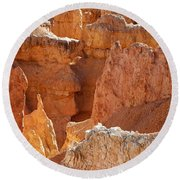 Heart Of The Hoodoos Round Beach Towel