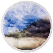 Heaven On Earth Round Beach Towel